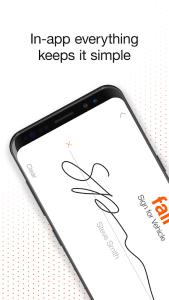 fair app signature