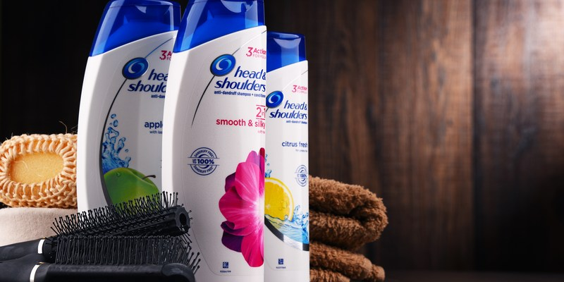 head and shoulders shampoo from procter & gamble