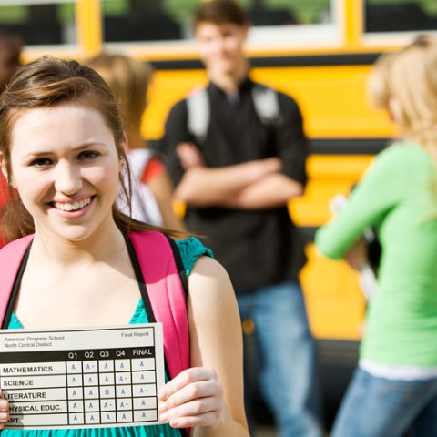 Have 'A's on your report card? Here's where you can get free food and more!