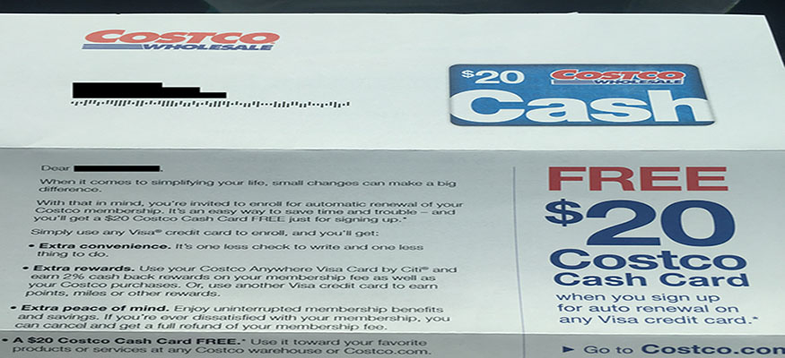 Costco members — here's how to get a free $20 cash card