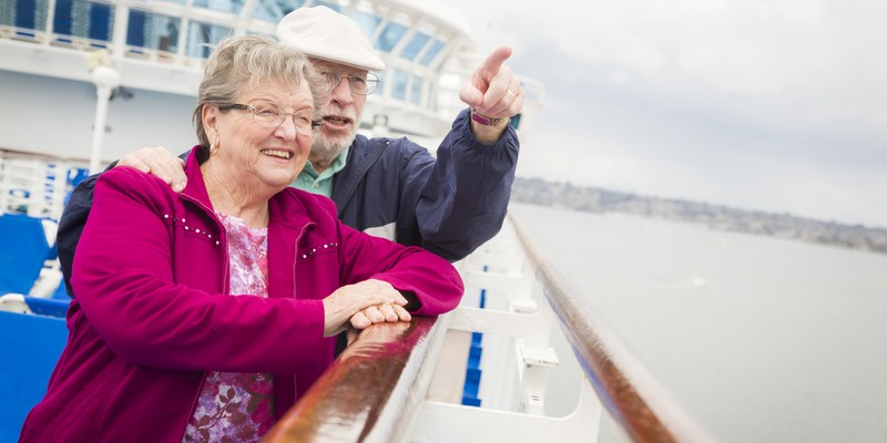 50+ and ready to sail? Here are the best cruises for seniors
