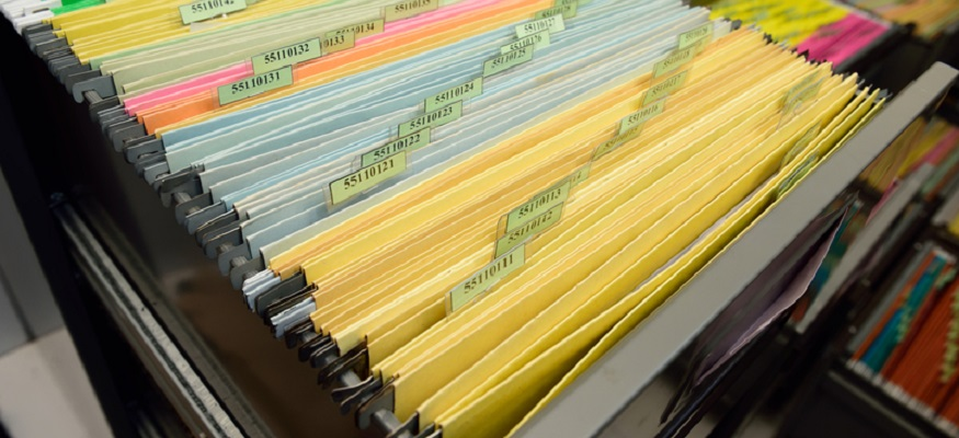 record keeping files