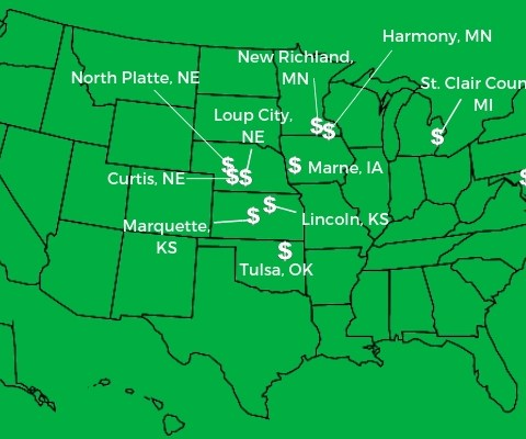 Cities that will pay you to move there