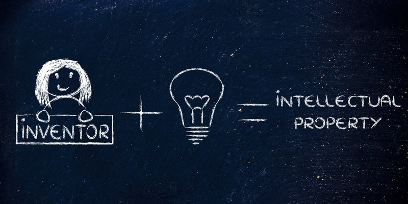 inventor and intellectual property graphic
