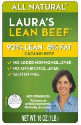 laura's lean beef recall