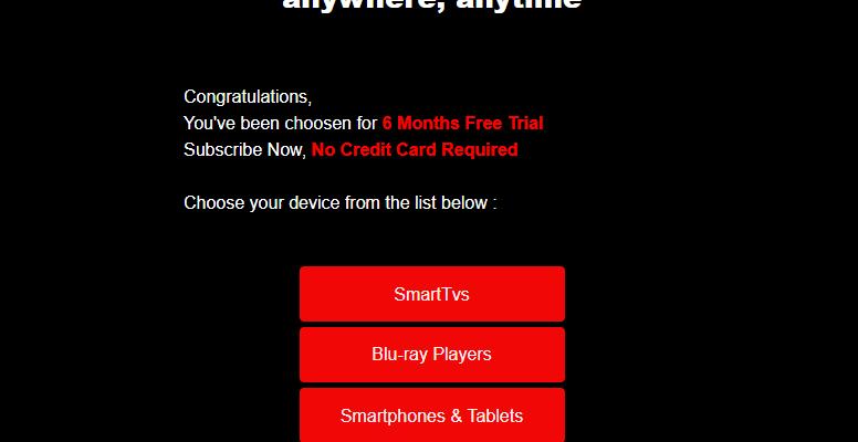 Netflix spam