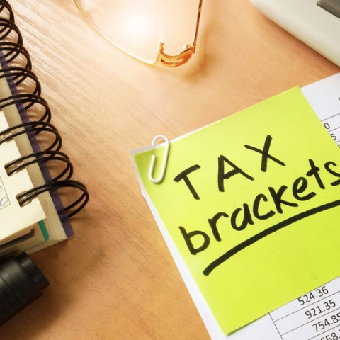 IRS income tax brackets