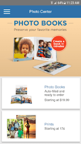 costco app photo center