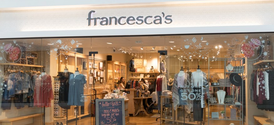 Francesca's closing at least 30 stores - retail closings in 2019