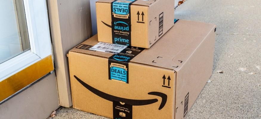 amazon prime deliveries on doorstep