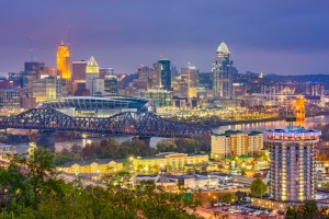 cincinnati, ohio skyline