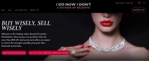 I Do Now I Don't jewelry resale homepage