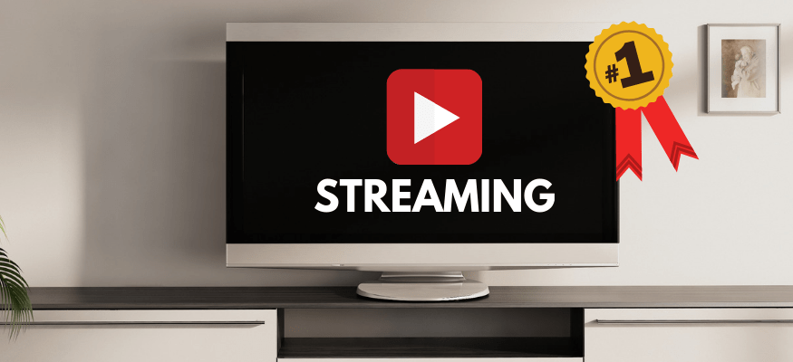 New report: The #1 streaming service in America