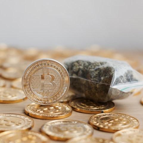 Gold, marijuana, Bitcoin