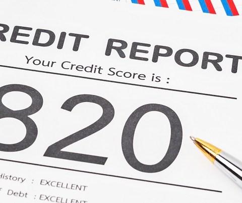 820 credit score