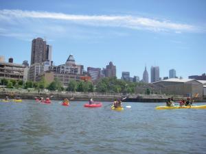 Kayaking at the Pier 26 Boathouse