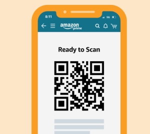 Amazon QR code - How to return your Amazon purchases at Kohl's
