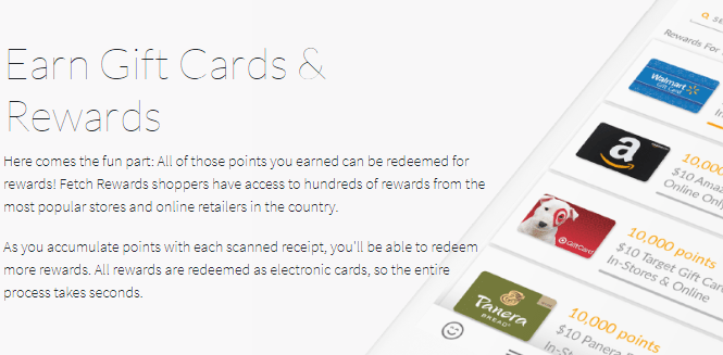 How to get free gift cards from Fetch Rewards