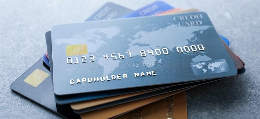 Credit card stack