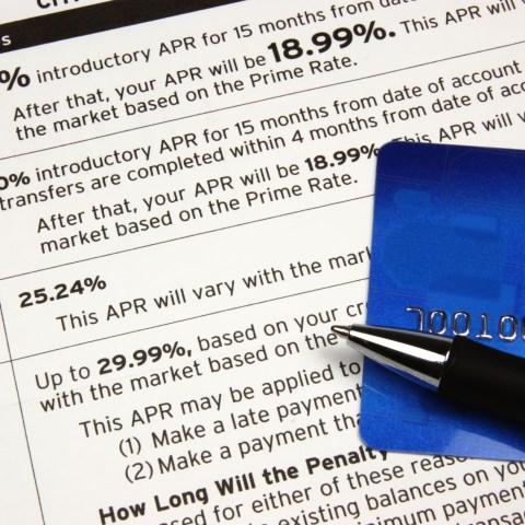 Credit card balance transfer offer