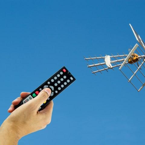 Digitial antenna channel scan
