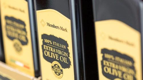 Member's Mark private label extra virgin olive oil at Sam's Club