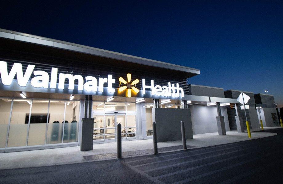 Walmart Health storefront in Dallas, Georgia