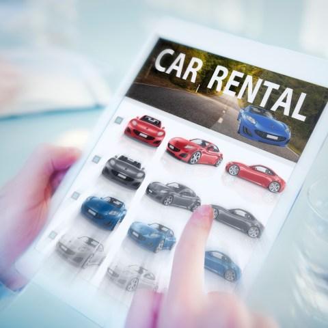 Online Car Rental Search