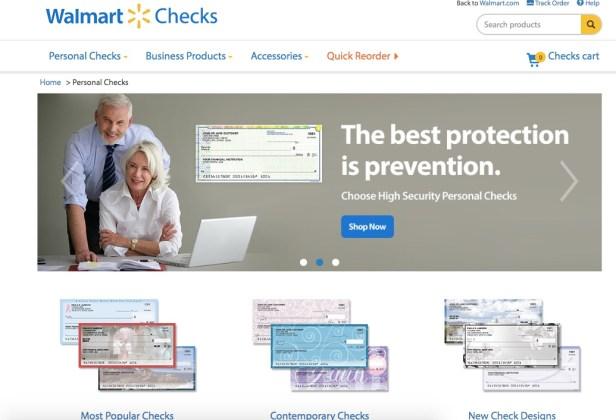 Walmart Checks