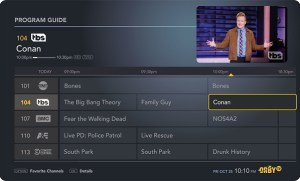 Orby TV program guide (Image: Orby TV)