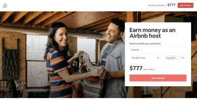 Airbnb income estimator