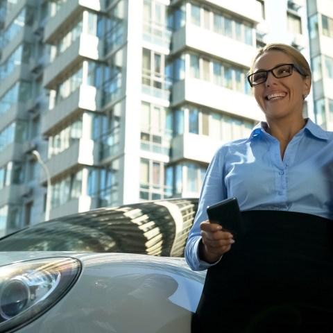 Woman Celebrates Getting Job
