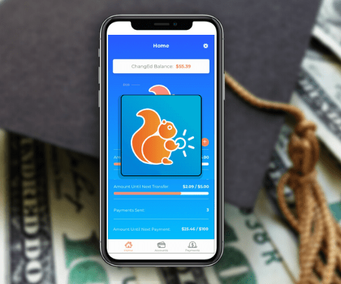 The ChangEd app helps students repay loan debt.