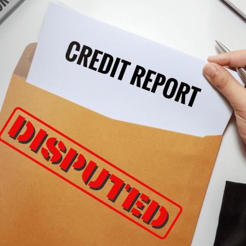 Dispute Error on Credit Report