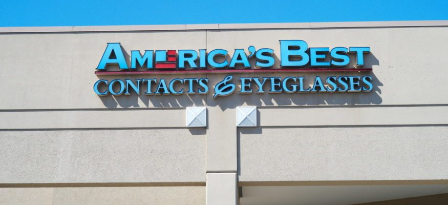 America's Best Contacts & Eyeglasses store front