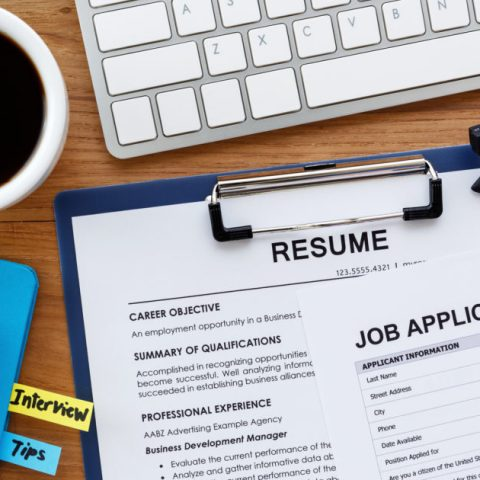 Documents for getting ready to apply to jobs after being laid off