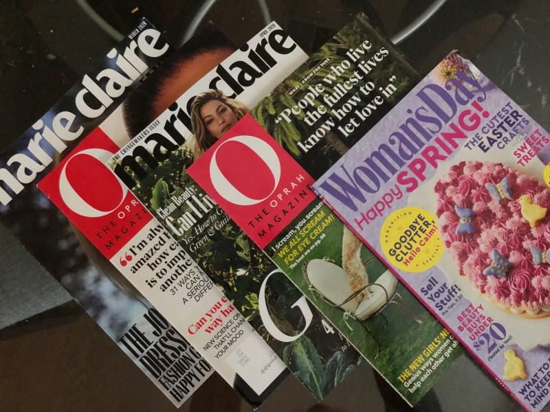 Free magazines from RewardSurvey