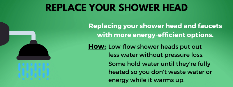 Replace your shower heads