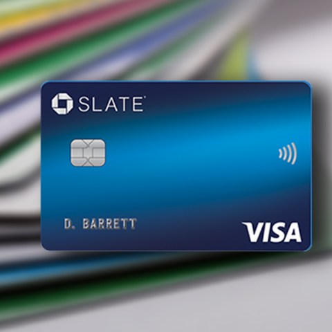 The Chase Slate card has 0% APR on balance transfers and new purchases for 15 months.