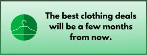 cheaper clothes