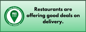 cheaper food delivery