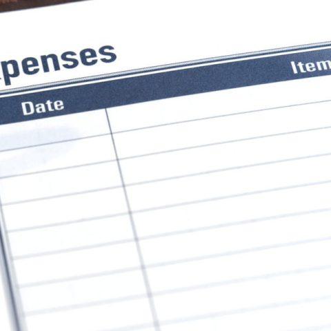 Expense tracker worksheet