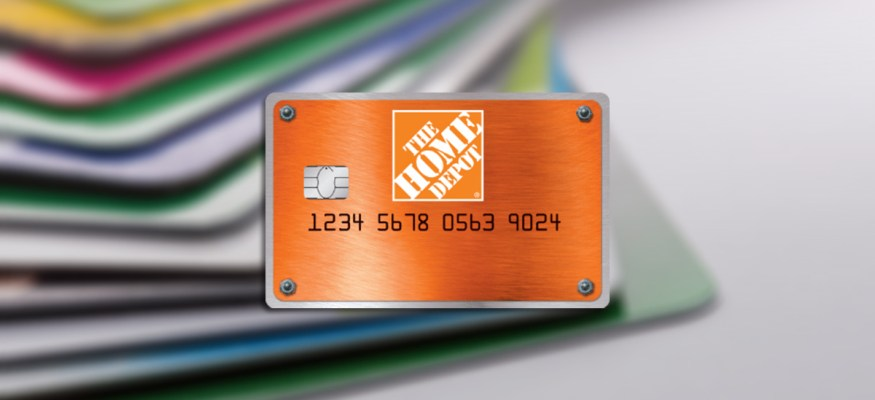 The Home Depot Consumer Credit Card offers in-store credit for purchases.