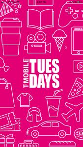 T-Mobile Tuesdays app