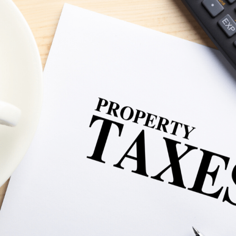 property taxes image