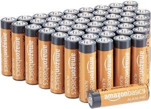 AmazonBasics AA batteries from Amazon