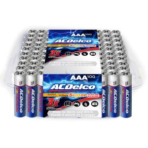 ACDelco AAA batteries at Walmart