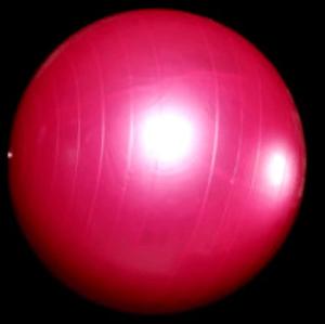 Balance ball for home gym