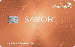 The Savor card offers a $300 welcome bonus.