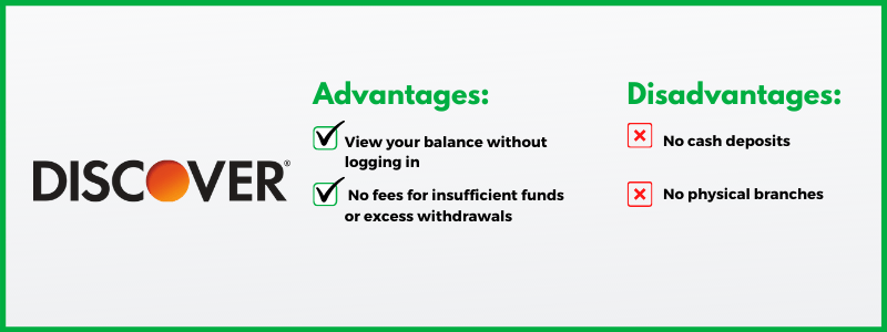 Discover's savings account is proof that you don't need to pay fees in order to handle your basic banking needs.